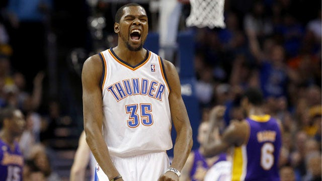 Thunder Ties NBA Record In Win Against Lakers