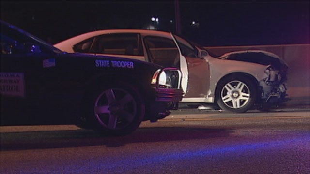 Wild Car Chase Starts In OKC, Ends In Norman
