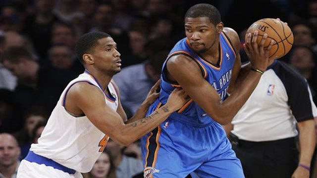 Durant Outduels Smith As Thunder Wins Thriller At The Garden