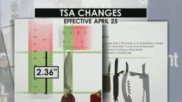 OKC Airport Warns Against Knives Following TSA Announcement