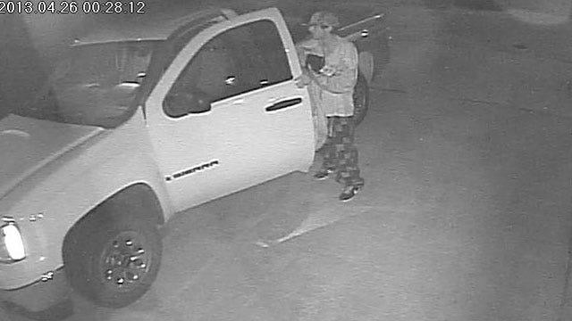 OKC Auto Burglary Suspect Caught On Video