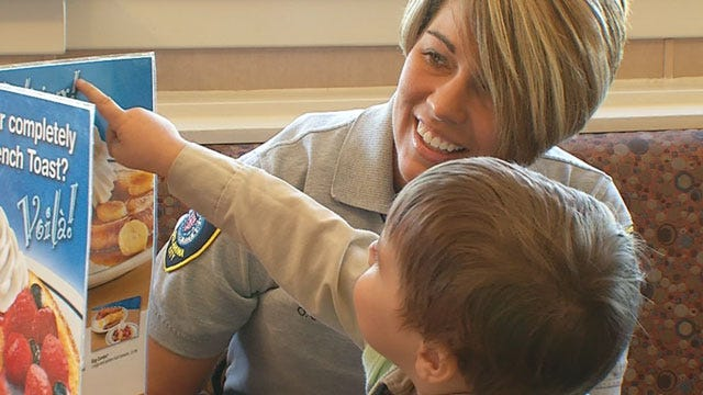 Two OKC Police Officers Honored Year After Saving Baby's Life