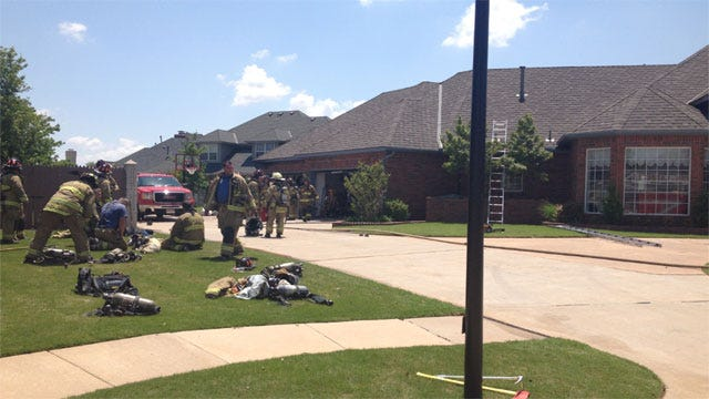 Rags May Be To Blame For Fire At NW OKC Home