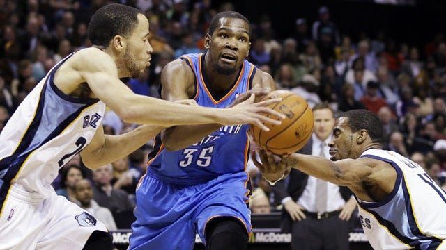 Thunder Runs Out Of Gas In Memphis