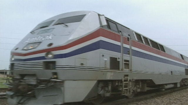OKC Mayor, Other Leaders Push For Rail Service To Kansas