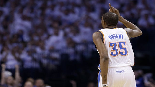 It's Up To Durant To Fix OKC's Late-Game Struggles