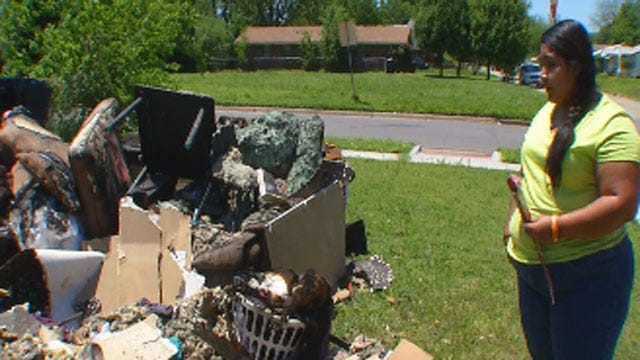 OKC Woman Speaks Out After Home Destroyed In Fire