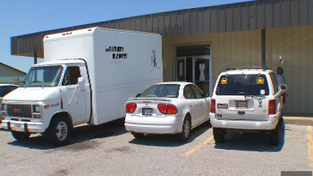 Thief Steals Batteries From Moore Food Pantry's Trucks
