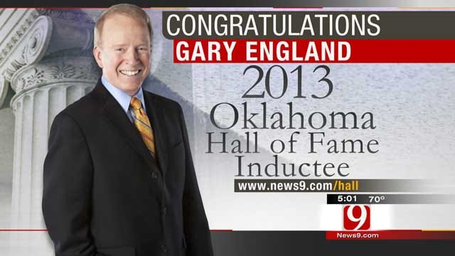 Oklahoma's Own Gary England To Be Inducted Into OK Hall Of Fame
