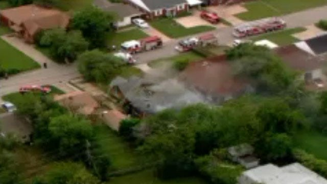 Crews Put Out House Fire In Northeast OKC