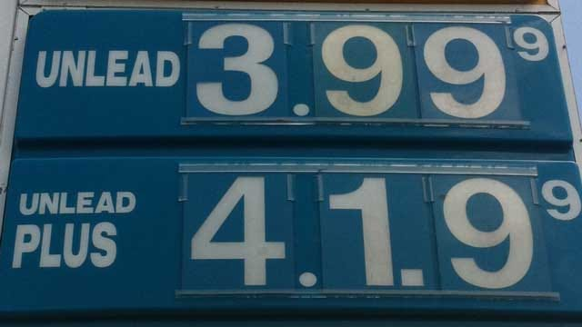AAA: Gas Prices Reach All-Time High In Oklahoma City