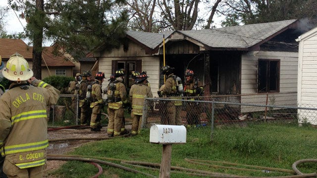 Firefighters Douse House Fire In SE OKC