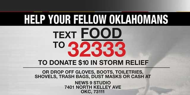 News 9 Accepting Donations For Oklahoma Tornado Victims