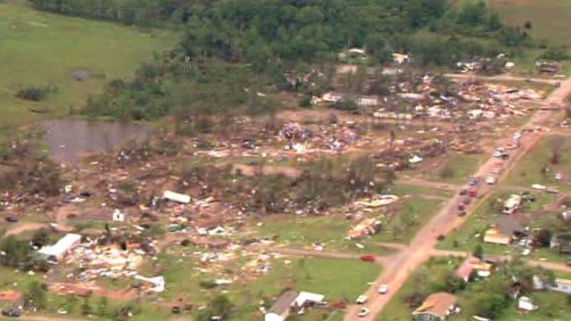 News 9 Storm Trackers Payne, Castor & Gardner Capture Devastating Twisters