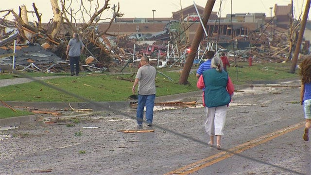 Roads Reopening In Tornado-Affected Areas In Moore