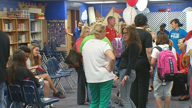 Plaza Towers Teachers & Families Share Special Reunion