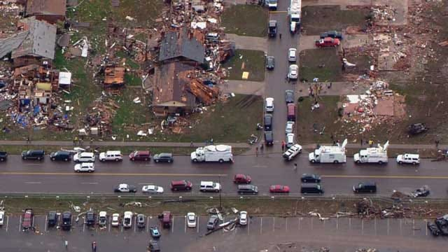 Recovery Begins While Officials Clarify Numbers On OK Tornado Damage