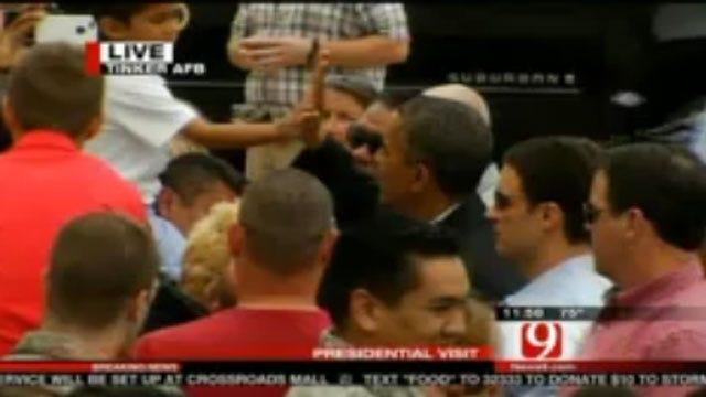 President Obama Surveys Moore Tornado Damage; Visits Victims, First Responders
