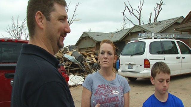 Moore Family Warns Of Housing Scams Following Tornado