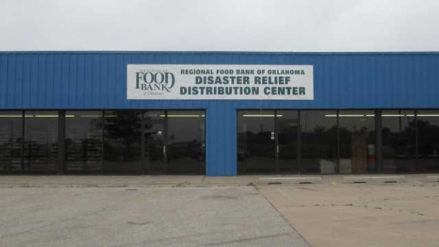 Disaster Relief Distribution Center Open To All Moore Residents In Need