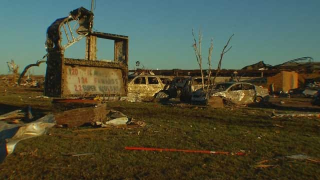 Buildings Heavily Damaged In Moore Tornado Slated For Demolition