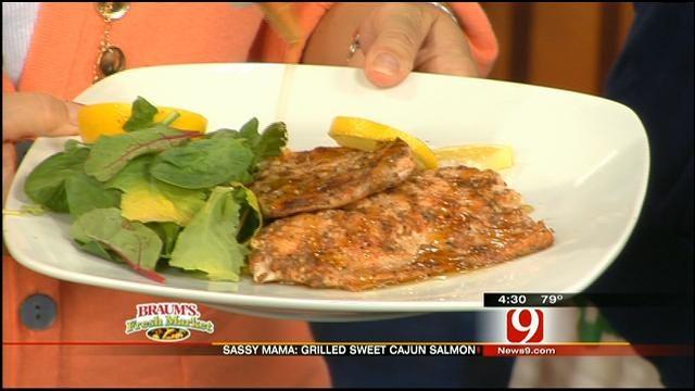 Grilled Sweet Cajun Salmon