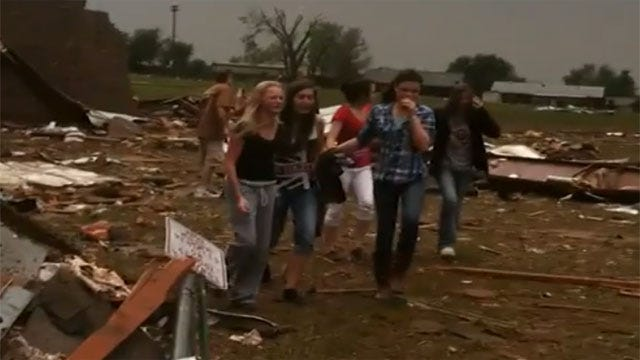 Highland East Principal 'Drop-On-Your-Knees Thankful' After Moore Tornado