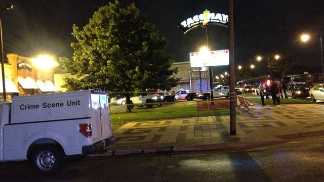 Police Investigate Homicide At NW OKC Taco Mayo