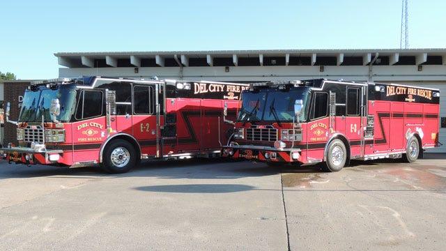 Del City Receives 2 New Fire Trucks