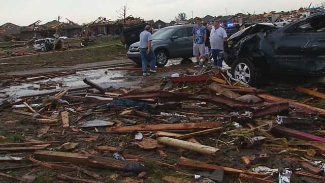 Debris Pick Up To Begin For Tornado-Stricken Area Of South OKC