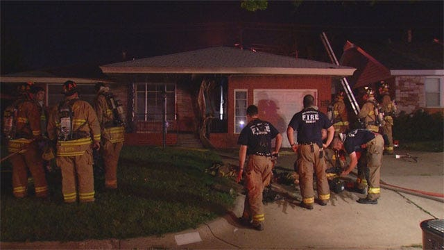 Clothes Dryer May Have Sparked Fire At SW OKC Home