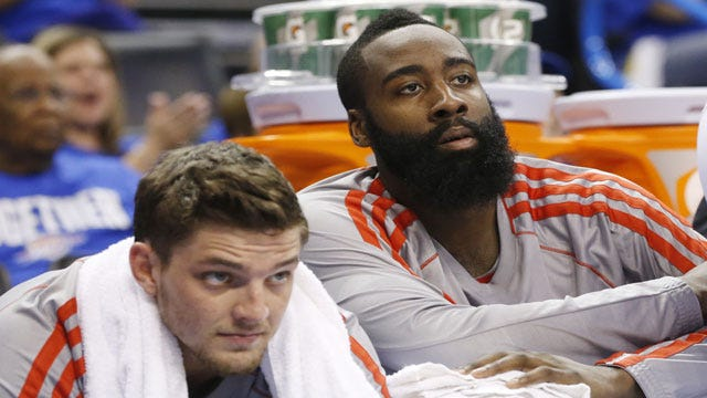 First Round Of Thunder vs. Harden Comes To Fitting End