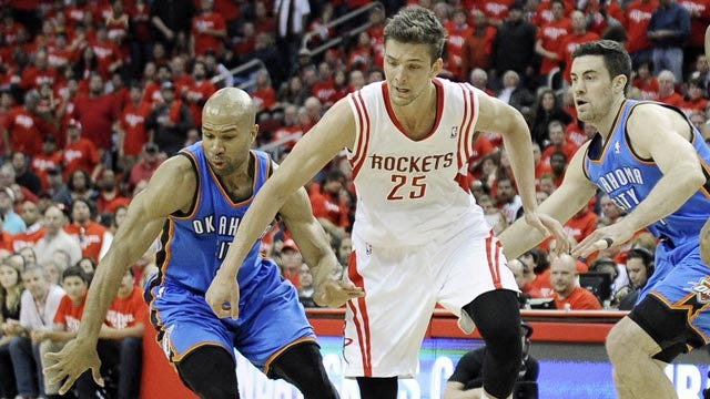 Pine And Dandy: Bench Proves Thunder Not Finished Yet