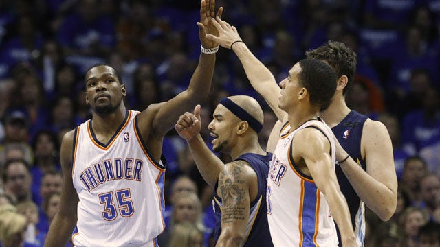Bear Down: Thunder Comes Back To Knock Off Grizzlies