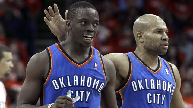 Thunder Role Players Must Step Up Against Memphis