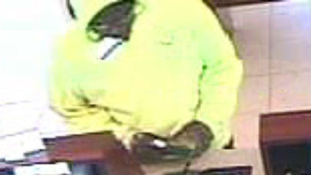 FBI Searches For Norman Bank Robber