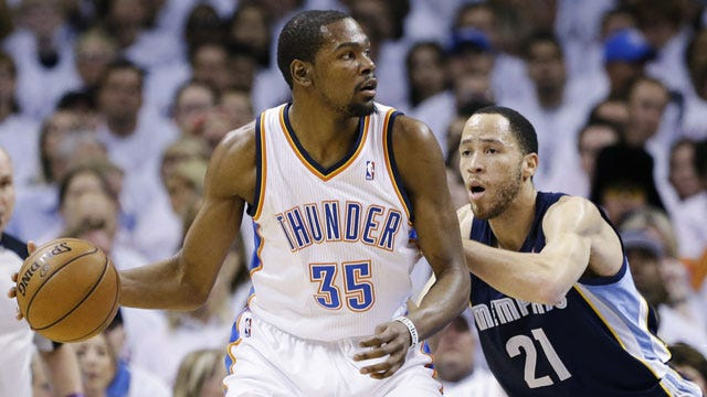 Thunder Falls To Grizzlies In Game 2
