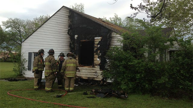 Fire At NW OKC House May Be Suspicious