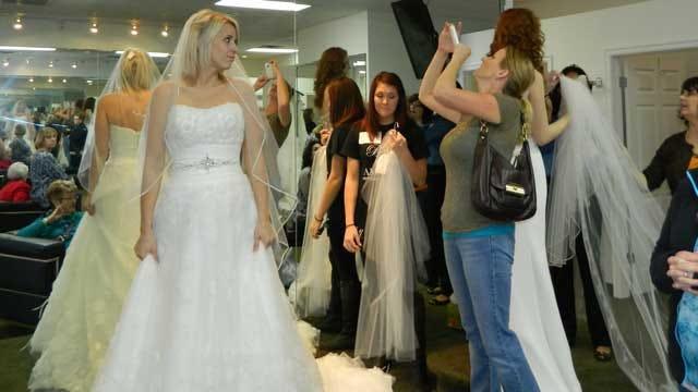 OKC Bridal Shop Donates Wedding Dresses To Military Brides