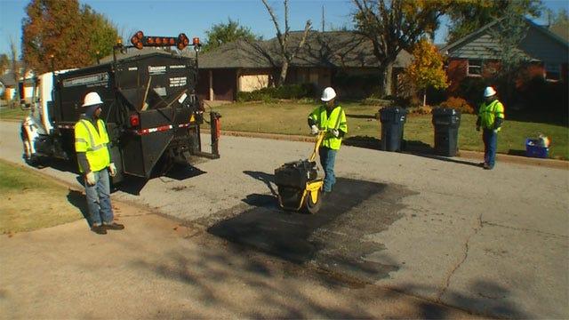 Study: OKC Roads Nearly Worst In US; City Responds