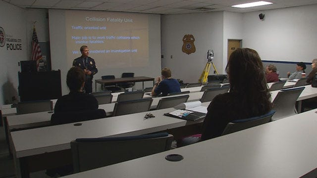 Kelly Ogle Graduates From Citizens Police Academy