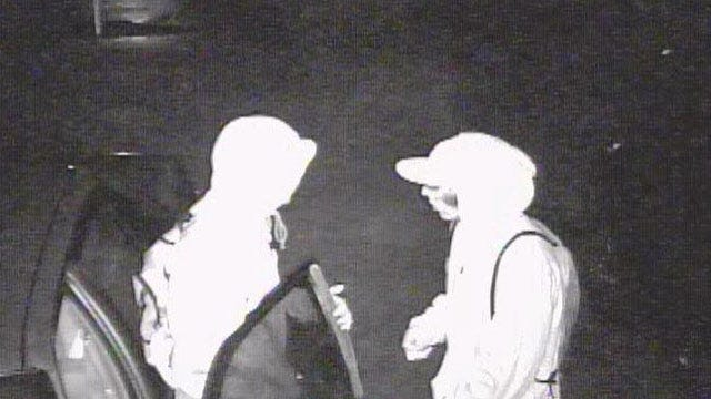 Night-Vision Camera Captures Car Burglars In OKC