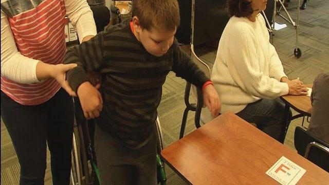 Thieves Steal Walker From Norman Boy Battling Disease