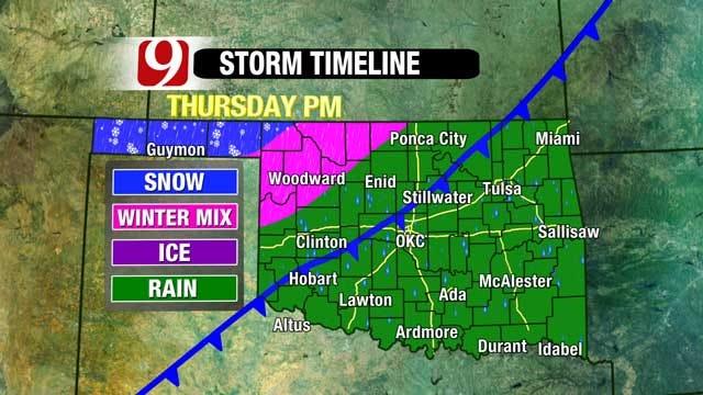 Arctic Blast To Hit Oklahoma This Week