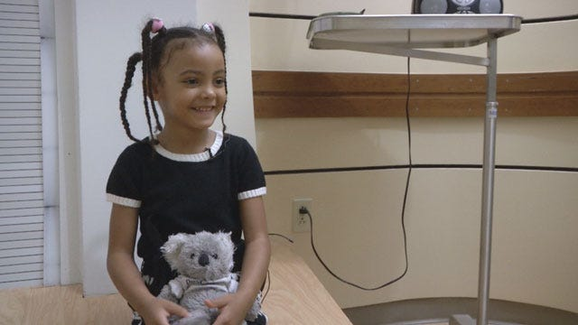 English Family In OKC To Treat Cancer-Stricken Daughter