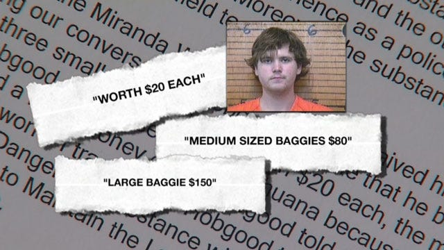 Pizza Delivery Man Busted Selling Pot In Chickasha