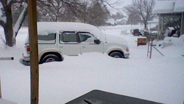Winter Storm Dumps Up To 1 Foot Of Snow In Western, Southwestern OK