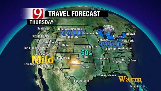 Holiday Travel Forecast For Oklahoma