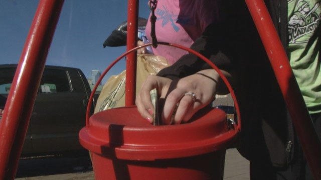 Salvation Army Bell Ringers Hope For Another Successful Year