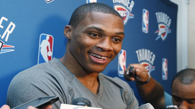 Fans Turn Out In Droves For Thunder Home Opener, Celebrate Westbrook's Return